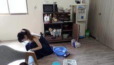 小鵲兒整理鍋碗瓢盆