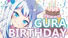 「鯊鯊」Gura歡度生日,《惡魔獵人5》但丁配音大咖慶賀感動爆哭