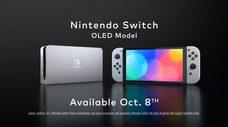 任天堂突襲宣布Switch OLED 版本,建議售價 349.99美元