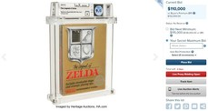 30多年前《薩爾達傳說》NES封存卡匣現在拍賣破300萬元
