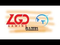 TT vs LGD game1  這雷西有夠猛