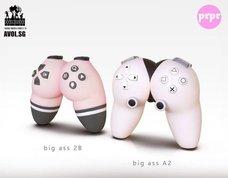 翹臀手把問世? 「Big ass A2 / Big ass 2B」 根本就是《尼爾:自動人形》2B和A2吧?