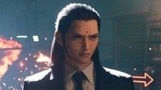 《最終幻想 7 重製版》遊戲官方推特公開了一張塔克斯組織主任「曾」的角色設計圖