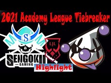 LJL 2021 Academy League Tiebreaker 新的次級聯賽唷!