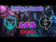 IMTA vs EGA Week 3  2021 LCS Proving Grounds Summer Immortals vs  Evil Geniuses