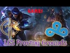 GGA vs C9A 2021 LCS Proving Grounds Summer Golden Guardians vs  Cloud9