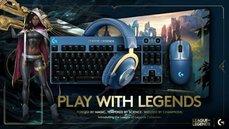 Logitech G x《英雄聯盟》珍藏版聯名系列 11/4台灣限量開賣