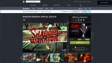 SHADOW WARRIOR: SPECIAL EDITION 影武者 限時下載免費 ($49.99 Free!)
