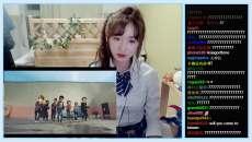 最近爆紅的韓國妹子看蹦蛙少年軍團影片