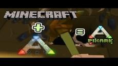 【方塊方舟 攻略】新手教學 Minecraft版的ARK 有沒有搞頭? PixARK #1