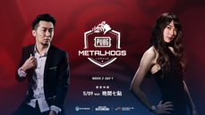 MetalHogs PUBG League #W3D1