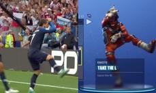 世足賽也瘋狂《Fornite 要塞英雄》 當法國王牌Griezmann進球大跳「Take the L」