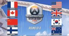 鬥陣世界盃八強結果,決賽將在BlizzCon舉行!